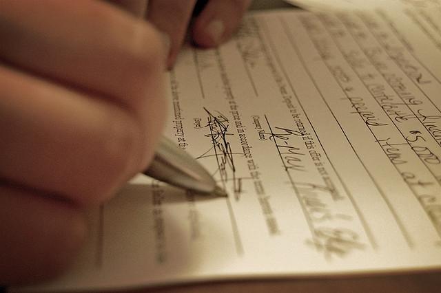 """""""Signing"""
